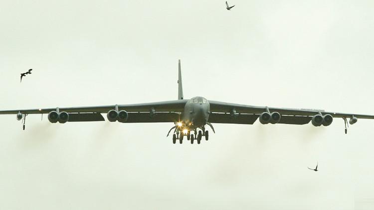 El bombardero estratégico B-52 Stratofortress de Estados Unidos