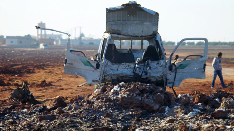 La aviación siria destruye 36 camiones cisterna del Estado Islámico