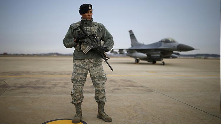 Las tropas estadounidenses en Corea del Sur, en disposición de combate ante la amenaza de Pionyang