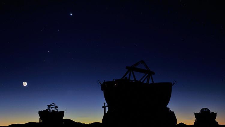 Cinco planetas brillarán en un desfile con la Luna