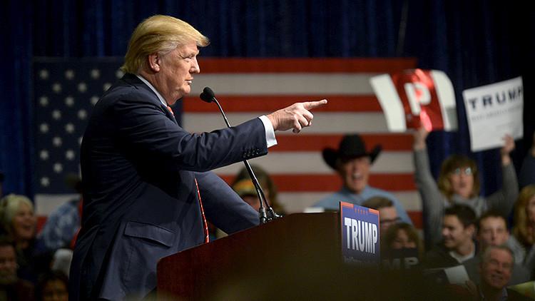 """Donald Trump a los electores: """"Si ustedes no votan, nuestro país se va a ir al infierno"""""""