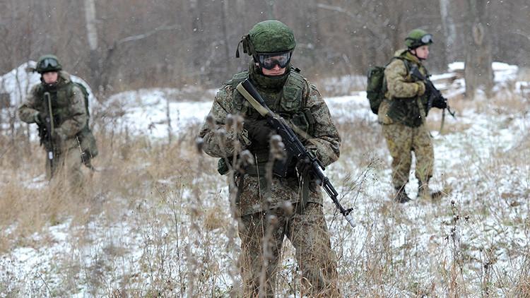 Científicos rusos inventan un material de camuflaje para el uniforme de los soldados invisibles