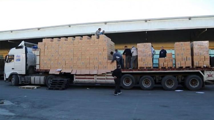 Los primeros convoyes humanitarios de la ONU entran en la ciudad asediada siria de Madaya