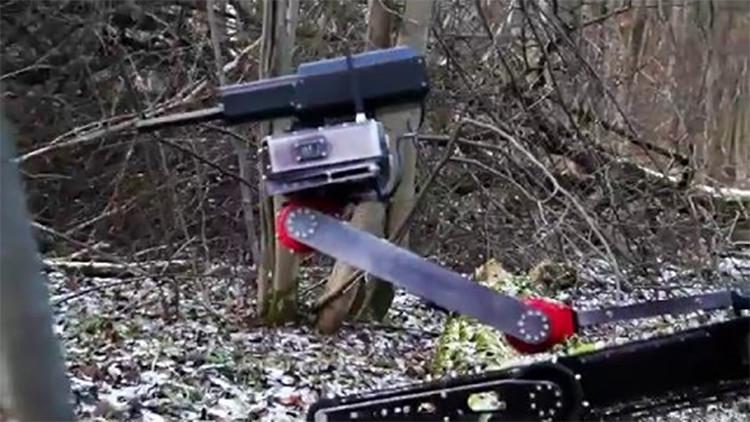 """Video: una compañía rusa crea una """"máquina de matar"""" que cabe en una mochila"""
