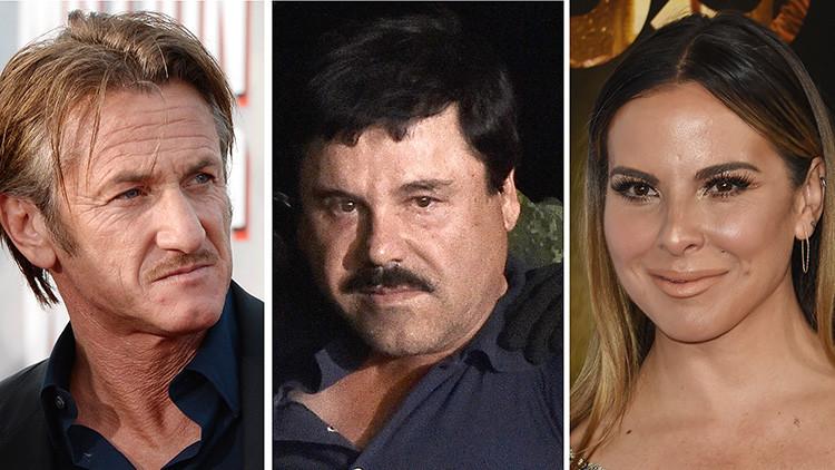 Revelan fotos de los actores Kate de Castillo y Sean Penn antes de reunirse con 'El Chapo'