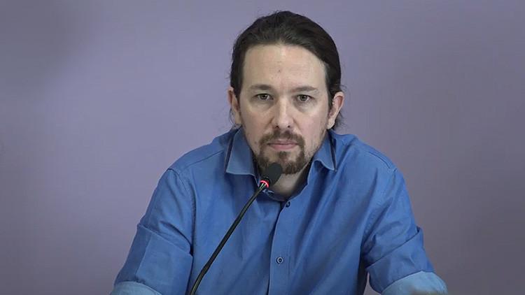 Video: Pablo Iglesias se reúne con representantes de los grupos parlamentarios afines a Podemos