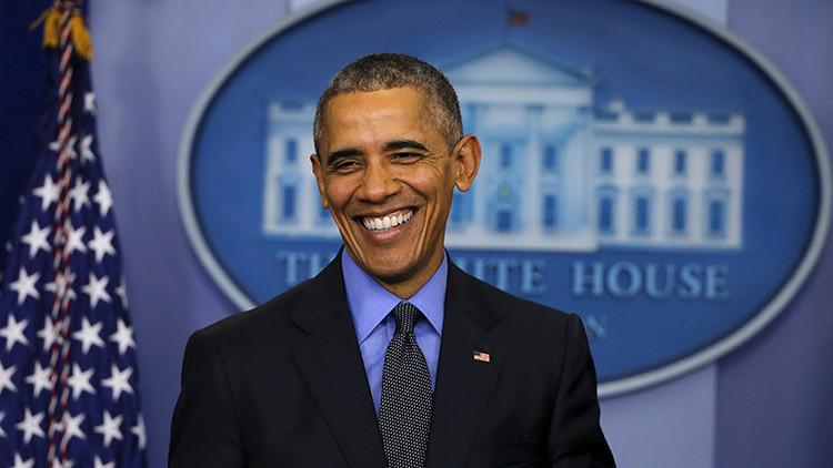 """Obama sobre Trump: """"Puedo imaginarlo como presidente pero en un 'sketch' satírico"""""""