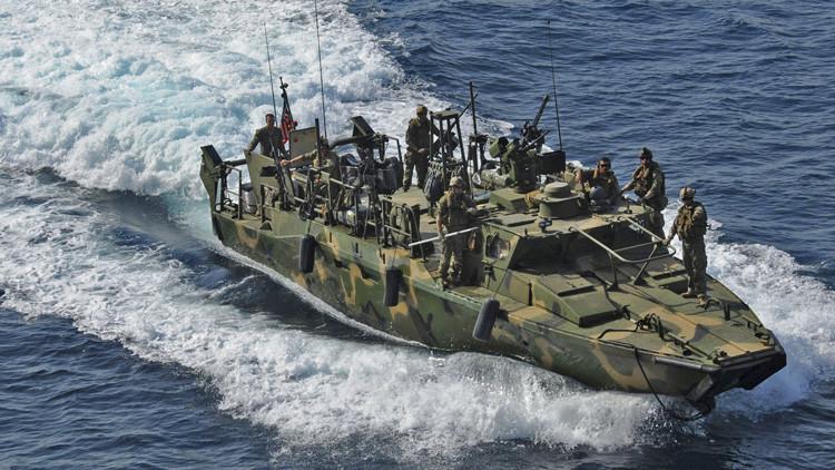 Teherán: Dos barcos de EE.UU. han entrado por error en aguas territoriales de Irán
