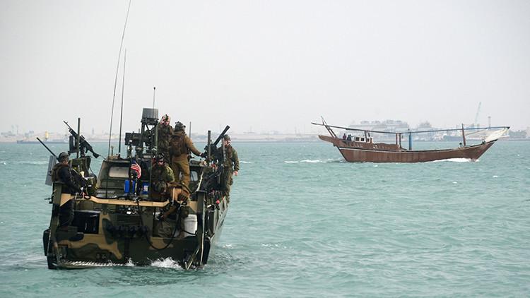 Iran libera a los 10 marineros estadounidenses que violaron sus aguas territoriales