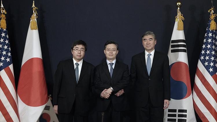 EE.UU., Japón y Corea del Sur acuerdan presionar Pionyang tras su ensayo nuclear