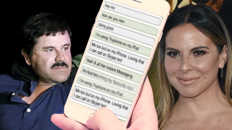 Las conversaciones entre 'El Chapo' y Kate del Castillo descubren la faceta romántica del narco