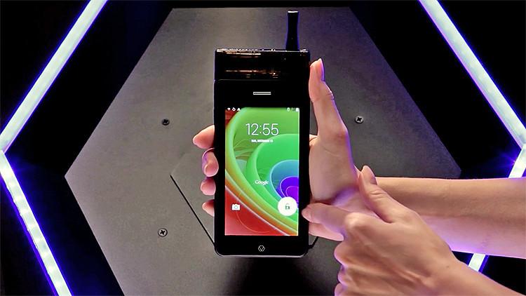 'Encender' el teléfono: Conozca el primer 'smartphone' que se fuma