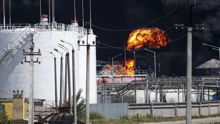 EE.UU.: Se ha producido un incendio en una instalación petrolífera de Oklahoma