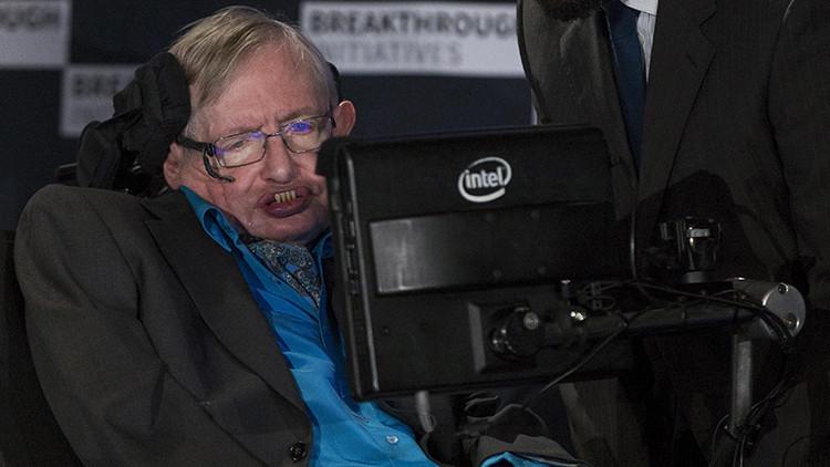 """""""No es un agujero tan negro"""": Hawking lanza un mensaje de ánimos a los que sufren depresión"""