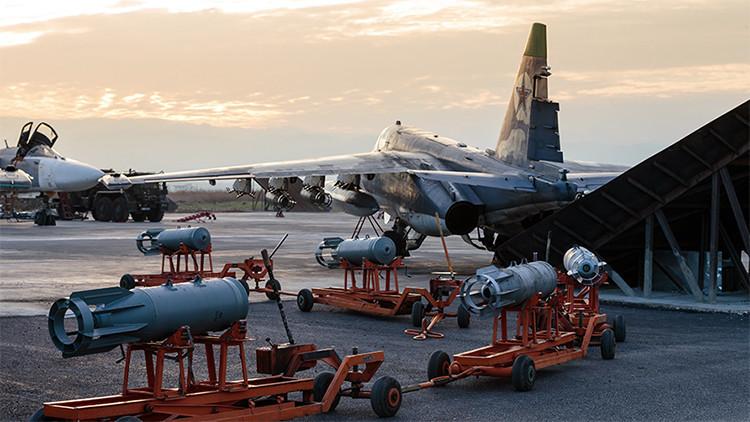 La Fuerza Aérea rusa ha cumplido 5662 misiones de combate desde el comienzo de la operación en Siria