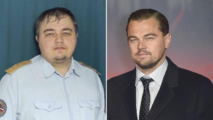 ¿Un DiCaprio ruso?: Encuentran en Rusia a un 'doble' de la estrella de Hollywood