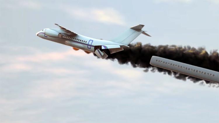 ¿Tiene miedo a volar? Los nuevos aviones permitirán salvar a los pasajeros en caso de accidente