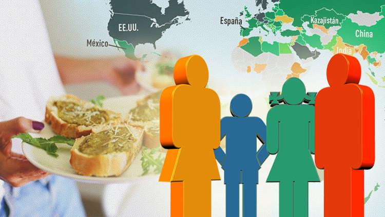 Mapa: ¿Cuánto vale la cesta familiar en todo el mundo?