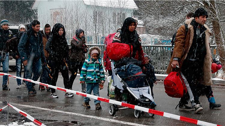 Austria desplegará el Ejército para detener refugiados que buscan ir a Alemania sin solicitar asilo