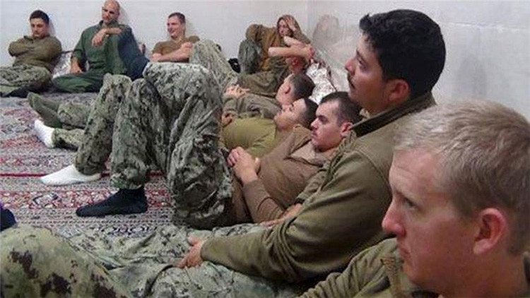 """Comandante iraní: """"Los marineros estadounidenses estaban llorando cuando los detuvimos"""""""