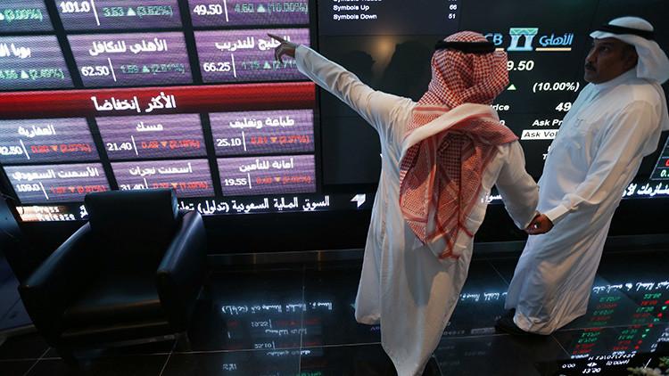La bolsa de valores de Arabia Saudita se desploma