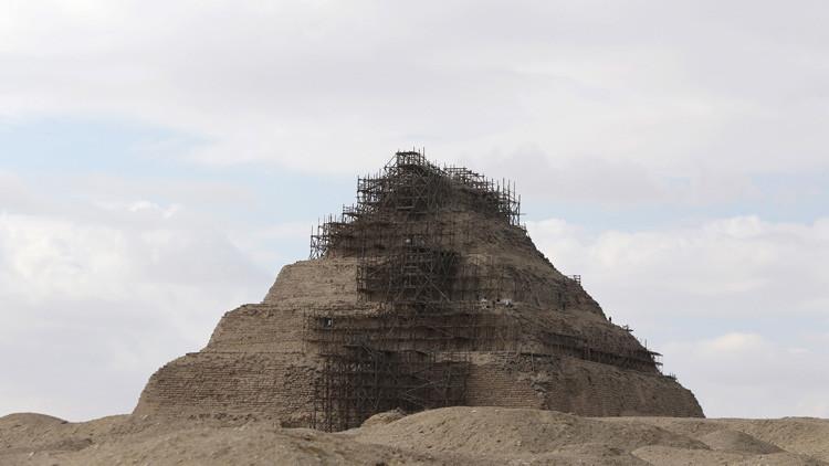 Encuentran partículas que podrían resolver el origen de las pirámides de Egipto