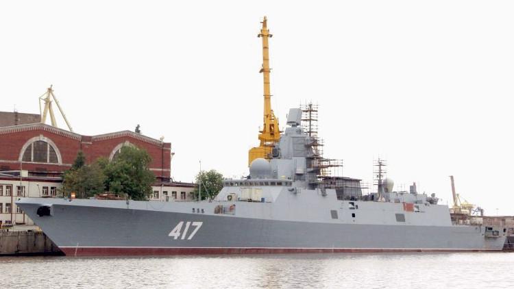 ¿Qué capacidades tiene la fragata invisible Admiral Gorshkov de la Flota rusa?