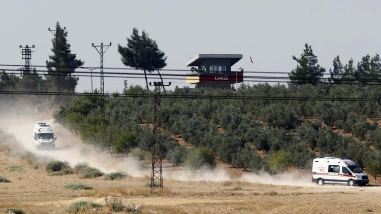 Proyectiles de mortero lanzados por el EI impactan sobre una escuela en el sur de Turquía