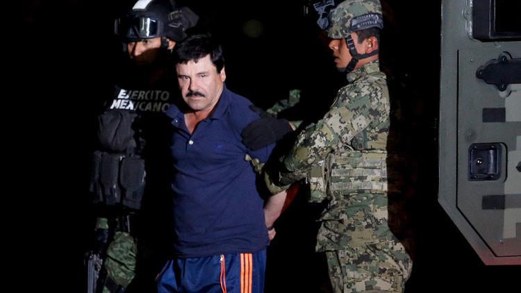 Difunden la primera imagen de 'El Chapo' Guzmán tras las rejas
