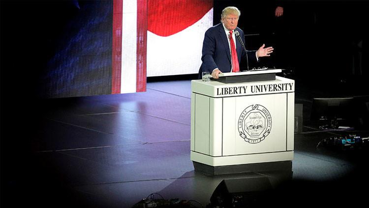 """Trump se proclama la """"peor cosa que le ha pasado"""" a la clase dirigente"""