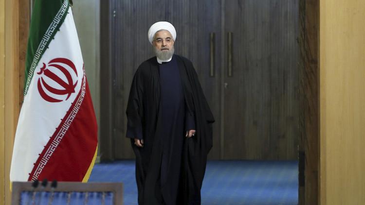 """Rohaní: """"Irán acaba de salir de la cárcel y todavía tiene las bolas de las cadenas en las piernas"""""""
