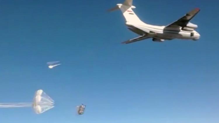 Rusia entrega más de 40 toneladas de ayuda humanitaria al pueblo sirio bloqueado por los terroristas