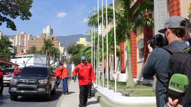 'Un día con' el presidente de Venezuela, Nicolás Maduro