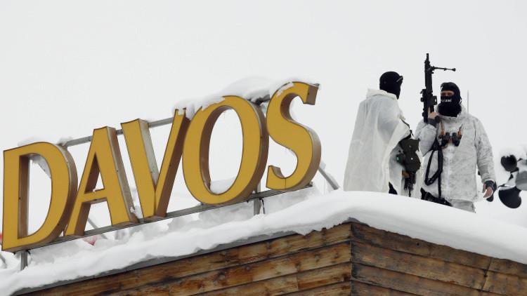 Fotos: El Foro Económico de Davos, infestado de francotiradores por temor al Estado Islámico