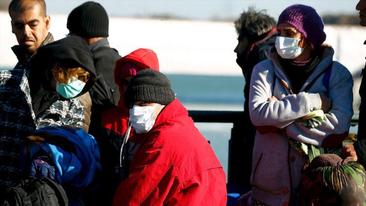 Difteria, tuberculosis y malaria entre refugiados alertan a las autoridades de Dinamarca