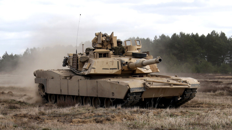 Tanques Abrams de EE.UU. protagonizarán ejercicios militares en Georgia