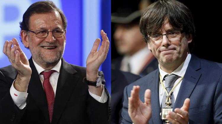 """Rajoy, al falso presidente catalán: """"Tengo la agenda muy libre"""""""