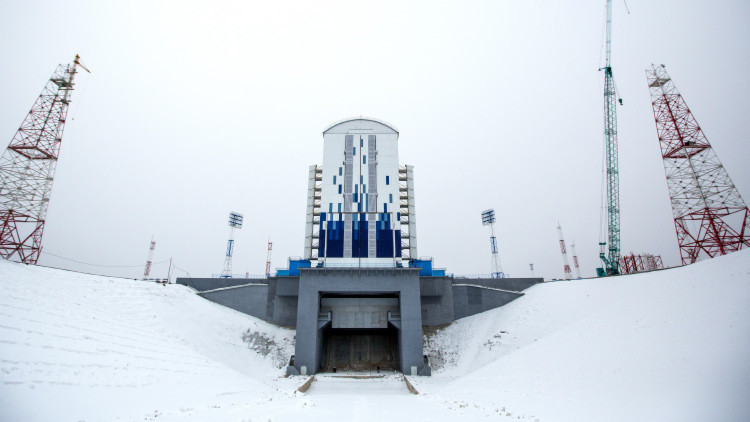 Video exclusivo: el novedoso cosmódromo ruso a vista de pájaro