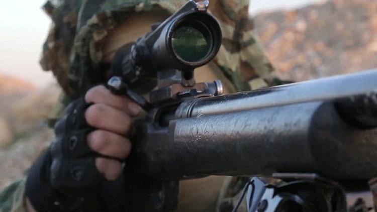 Francotiradores del Estado Islámico publican videos grabados desde el punto de mira