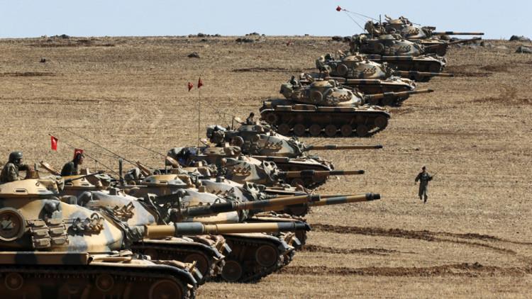 Primero Irak, ¿ahora Siria? Reportan la entrada de tropas turcas en la ciudad siria de Jarablus