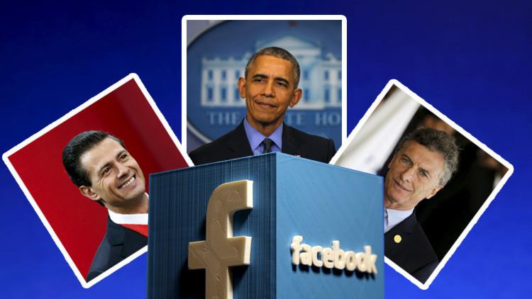 ¿Qué líder mundial es el mejor en Facebook?
