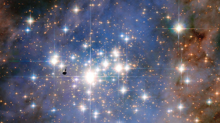 El Hubble capta los 'diamantes' más brillantes de la Vía Láctea (fotos, video)