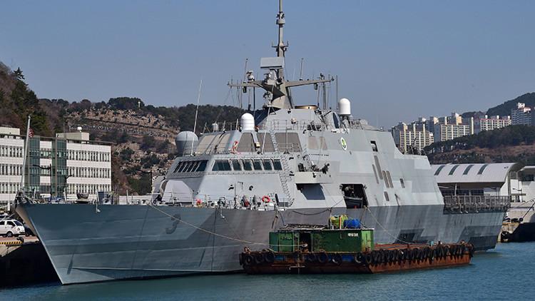 Se avería la segunda moderna fragata de la Marina de EE.UU. en un solo mes