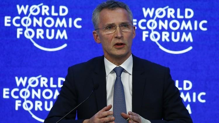 El secretario general de la OTAN Jens Stoltenberg,