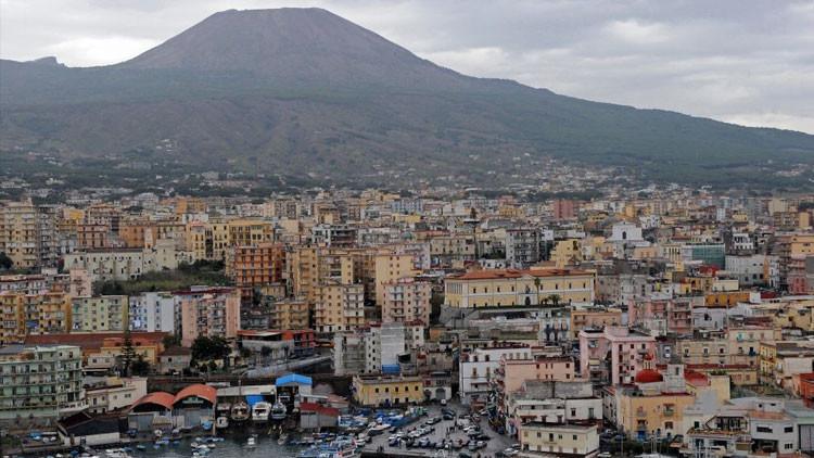 El gigante dormido que causa temor: el volcán Vesubio pondría en peligro a miles de personas