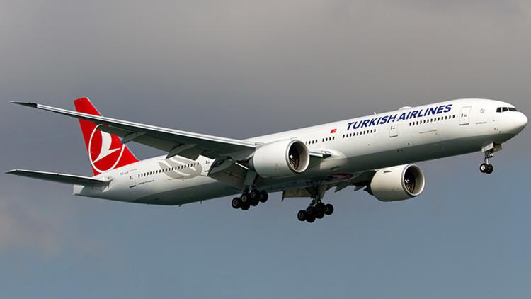 Un avión turco altera su ruta por una amenaza de bomba