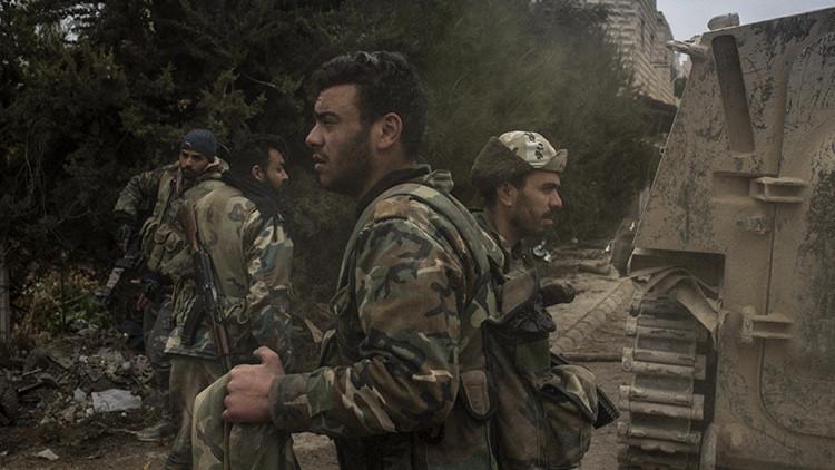 El lanzagranadas ruso Vampir muestra su poder destructivo en la guerra de Siria