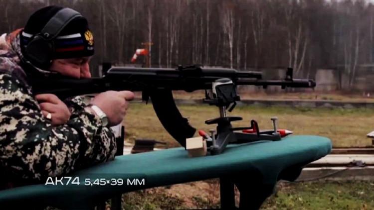 Video: El equipamiento del 'soldado del  futuro' vs las balas perforantes del potente fusil SVD