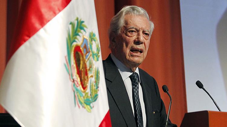 El escritor peruano y premio Nobel de Literatura de 2010 Mario Vargas Llosa