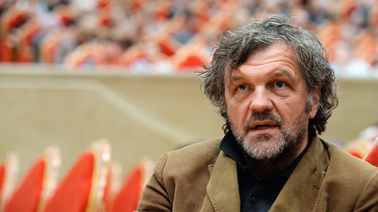 El reconocido cineasta serbio Emir Kusturica